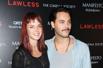 """Jack Huston Shannan Click The Cinema Society & Manifesto Yves Saint Laurent Host A Screening Of The Weinstein Company's """"Lawless"""" - Arrivals"""
