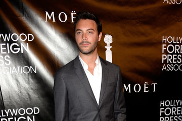 Jack Huston Guests Arrive to the Hollywood Foreign Press Association Hosts Annual Grants Banquet