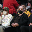 Jack Nicholson Golden State Warriors v Los Angeles Lakers