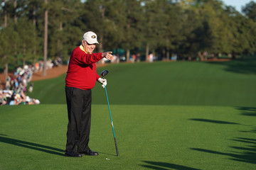 Jack Nicklaus The Masters - Round One
