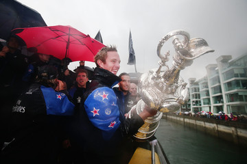 Jack Taylor Team New Zealand Americas Cup Welcome Home Parade