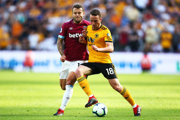 Jack Wilshere West Ham United vs. Wolverhampton Wanderers - Premier League