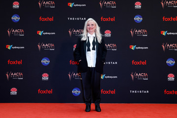 Jacki Weaver Celebrities Attend the 2019 AACTA Awards at The Star