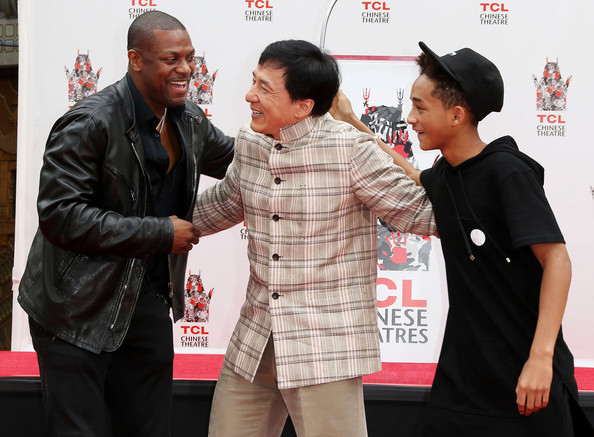 Jackie Chan And Jaden Smith 2013