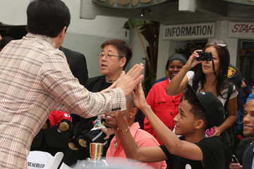 Jackie Chan Jaden Smith Jackie Chan's Hand and Footprint Ceremony — Part 4