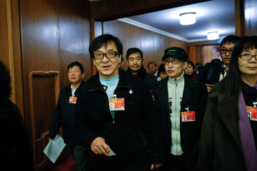 Jackie Chan China's National People's Congress: Third Plenary Meeting