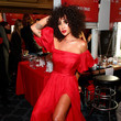 Jackie Cruz The American Heart Association's Go Red For Women Red Dress Collection 2020 - Backstage