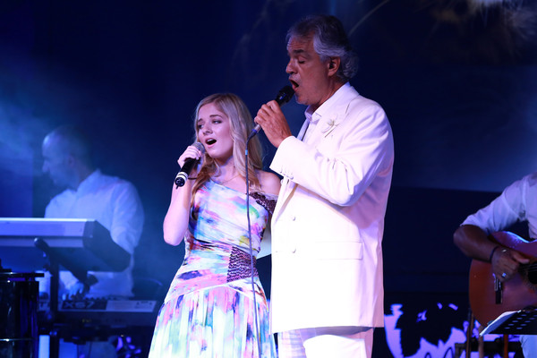 Celebrity Fight Night - Jackie Evancho - When You Wish ...