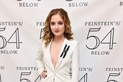 Singer Jackie Evancho poses at 54 Below on April 23, 2019 in New York City.