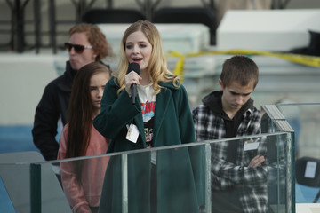 Jackie Evancho Washington DC Prepares For Presidential Inauguration