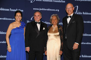 President and Chief Executive Officer Della Britton Baeza, Chairman and CEO of Willis Group Joseph J. Plumeri, Chariman Leonard S. Coleman, Jr. and Founder Rachel Robinson attends the Jackie Robinson Foundation Annual Awards Dinner at the The Waldorf Astoria on March 8, 2010 in New York City.