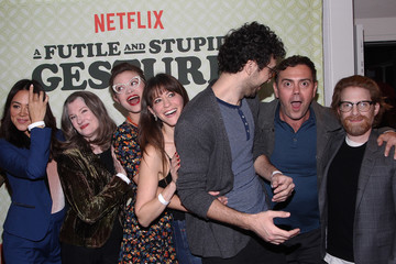 Jackie Thon EW & Netflix: 'A Futile and Stupid Gesture' Advance Screening