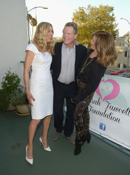 Farrah Fawcett 5th Anniversary Reception [formal wear,dress,event,suit,fashion,shoulder,blond,tuxedo,ceremony,premiere,ryan oneal,alana stewart,jaclyn smith,beverly hills,california,farrah fawcett foundation,farrah fawcett 5th anniversary reception]