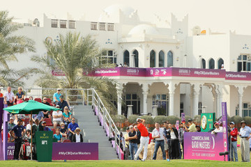 Jaco Van Zyl Commercial Bank Qatar Masters - Day Three