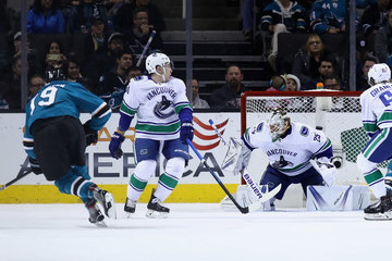 Jacob Markstrom Vancouver Canucks v San Jose Sharks