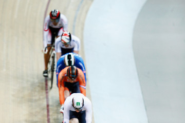 Jacob Schmid UCI Track Cycling World Championships: Day 2