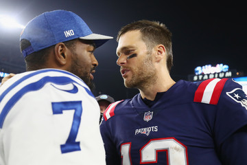 Jacoby Brissett Indianapolis Colts vs. New England Patriots