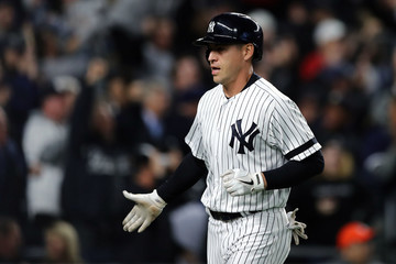 Jacoby Ellsbury League Championship Series - Houston Astros v New York Yankees - Game Four