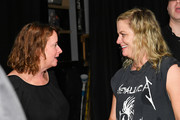 Rachel Dratch (L) and Amy Poehler attend the opening night of 'Jacqueline Novak: Get on Your Knees' at Cherry Lane Theatre on July 22, 2019 in New York City.
