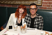 """Natasha Lyonne and Fred Armisen attend the opening night after party for """"Jacqueline Novak: Get on Your Knees"""" at  A.O.C. L aile ou la Cuisse on July 22, 2019 in New York City."""