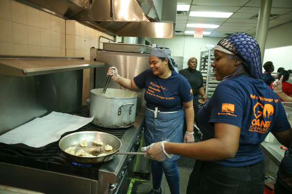The Supper Klub At Food Bank For New York City: NYC's First Community Kitchen For Kids And Teens