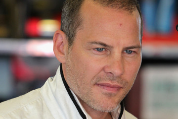The 46-year old son of father Gilles Villeneuve and mother Joann Villeneuve, 182 cm tall Jacques Villeneuve in 2018 photo