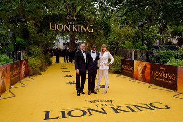 Jacqui Ainsley European Premiere Of Disney's 'The Lion King'