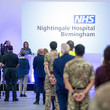 Jacqui Smith The Duke Of Cambridge Opens The New NHS Nightingale Hospital In Birmingham