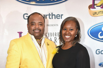 Jacquie Hood Martin Guests Arrive to the 2015 Ford Neighborhood Awards Hosted by Steve Harvey