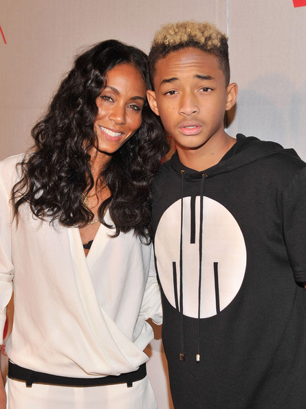 this photo jada pinkett smith jaden smith actress jada pinkett smith
