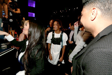 Jaden Smith The Comedy Central Roast Of Justin Bieber - Backstage And Audience