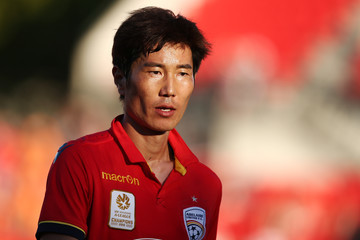Jae Sung Kim A-League Rd 23 - Adelaide v Brisbane