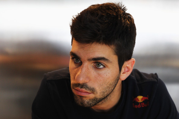 Jaime Alguersuari Jaime Alguersuari of Spain and Scuderia Toro Rosso is interviewed by the media during previews to the Monaco Formula One Grand Prix at the Monte Carlo Circuit on May 25, 2011 in Monte Carlo, Monaco.