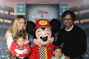 Jaime Camil Disney on Ice Presents Worlds of Enchantment Celebrity Guests (STAPLES Center Los Angeles)