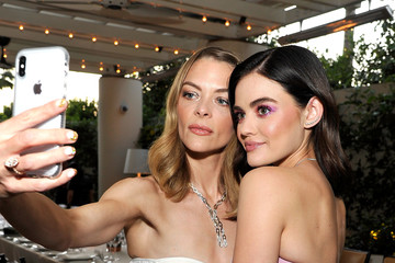 Jaime King Haute Living Celebrates Lucy Hale Cover with Real Is A Diamond