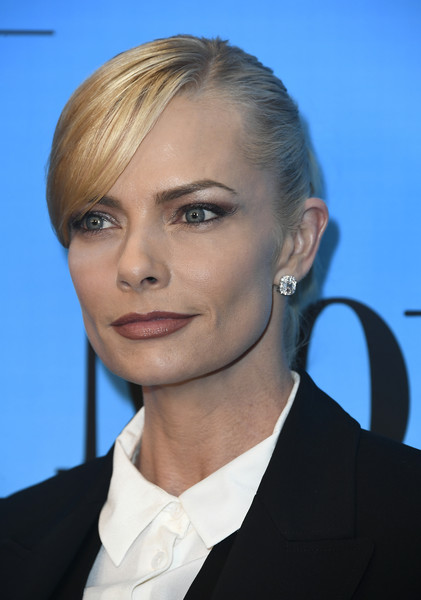 CBS And Warner Bros. Television's 'Mom' Celebrates 100 Episodes - Arrivals [episodes,mom celebrates 100,hair,face,hairstyle,eyebrow,blond,chin,beauty,lip,forehead,cheek,arrivals,mom celebrates 100 episodes,jaime pressly,tao hollywood,california,los angeles,cbs,warner bros. television]