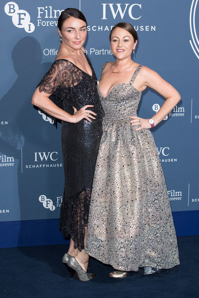 IWC Schaffhausen Gala Dinner In Honour Of The BFI - Arrivals [dress,clothing,shoulder,premiere,fashion,gown,hairstyle,a-line,event,haute couture,iwc schaffhausen gala dinner in honour of the bfi - arrivals]