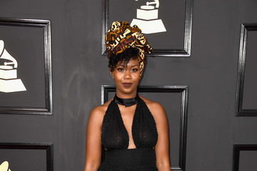 Jaime Woods The 59th GRAMMY Awards - Arrivals