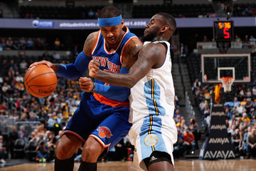 Jakarr Sampson New York Knicks v Denver Nuggets