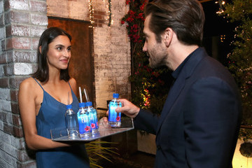 Jake Gyllenhaal FIJI Water at the Hollywood Foreign Press Association and InStyle's Celebration of the 2018 Golden Globe Awards Season