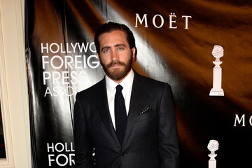 Jake Gyllenhaal Guests Arrive to the Hollywood Foreign Press Association Hosts Annual Grants Banquet