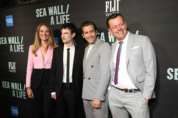 Jake Gyllenhaal FIJI Water At Sea Wall / A Life Opening Night On Broadway