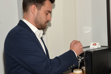Jake Johnson Home Bar Celebrated in NYC