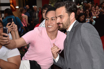 Jake Johnson Premiere of Universal Pictures' 'Jurassic World' - Red Carpet