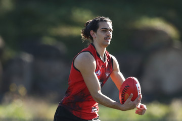 Jake Long Essendon Bombers Training Session