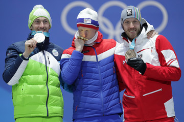 Jakov Fak Medal Ceremony - Winter Olympics Day 7