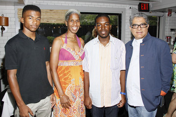 Jalen Wilder Hamptons Magazine And Morrocanoil Celebrate An Intimate Dinner With Deepak Chopra and Russell Simmons