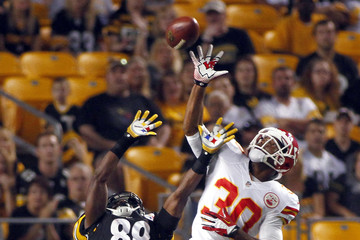 Jalil Brown Kansas City Chiefs v Pittsburgh Steelers