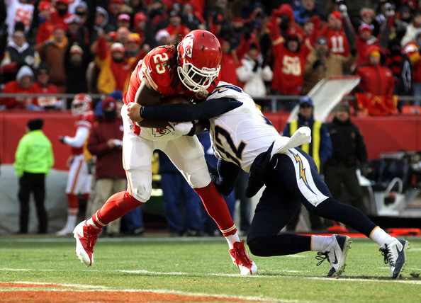 Jamaal Charles - San Diego Chargers v Kansas City Chiefs