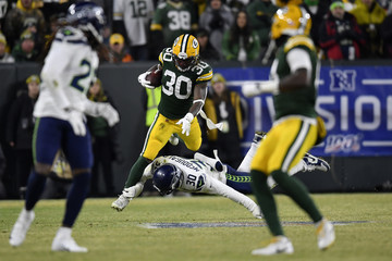 Jamaal Williams Divisional Round - Seattle Seahawks vs Green Bay Packers